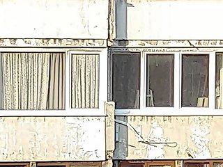 Teen Changes Spy Window