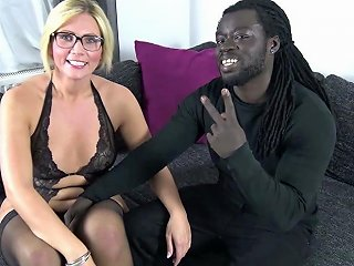 German Milf Tatjana Young Fan Fuck With Black Monster Cock