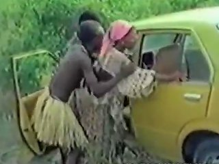 African Girl Fucked By White Cock In Forest Porn Videos