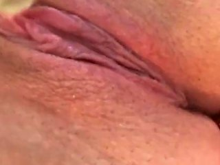 Good Morning Watch Me Push Cum Out Of My Wet Tight Pussy Into Asshole
